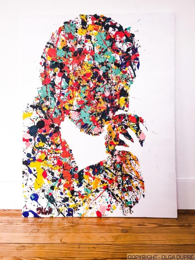 Colored love - Olga dessine